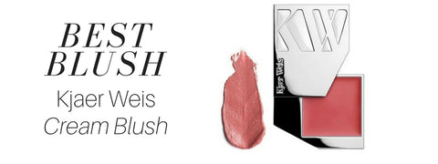 best blush: kjaer weis cream blush