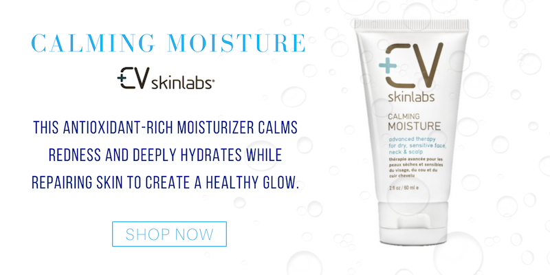 calming moisture from cv skinlabs. this antioxidant-rich moisturizer calms redness and deeply hydrates while repairing skin to create a healthy glow.