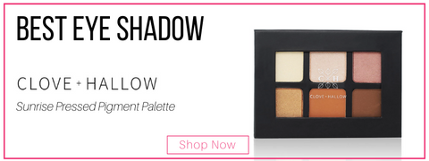best eye shadow: clove and hallow sunrise pressed pigment palette