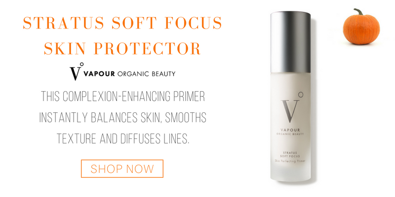 stratus soft focus skin protector from vapour organic beauty. this complexion-enhancing primer instantly balances kin, smooths texture and diffuses lines