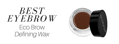 best eyebrow: eco brow defining wax