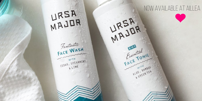 ursa major fantastic face wash and essential face tonic
