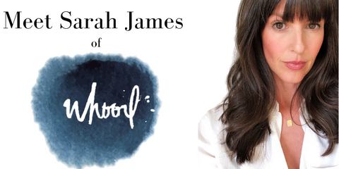 meet Sarah James of whoorl