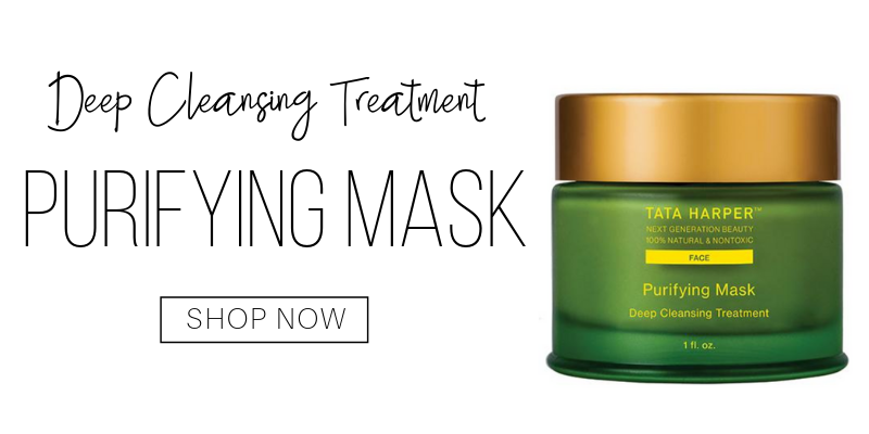 deep cleansing treatment: purifying mask from tata harper