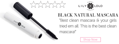 "lily lolo black natural mascara. ""best clean mascara and your girls tried em all. this is the best clean mascara!"""
