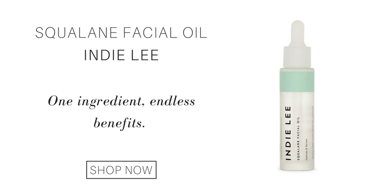 squalane facial oil from indie lee. One ingredient, endless benefits.