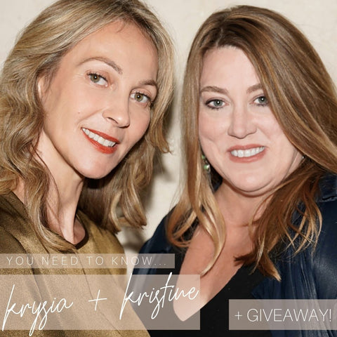 Giveaway! Kristen and Krysia founders of vapour beauty