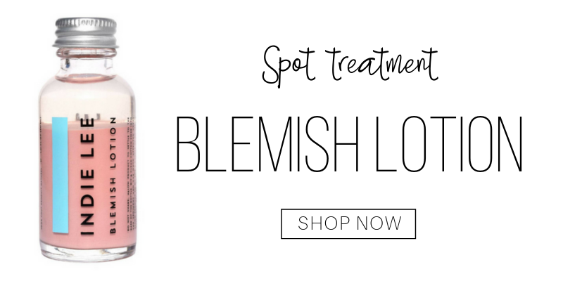 spot treatment: blemish lotion from indie lee