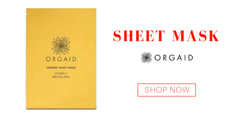 sheet mask from orgaid