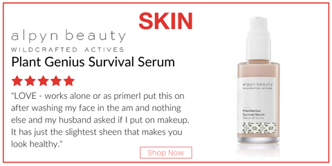 skin - plant genius survival serum