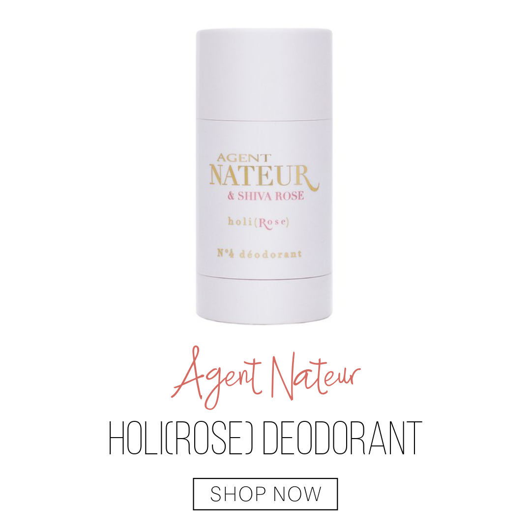 holi(rose) deodorant from agent nateur