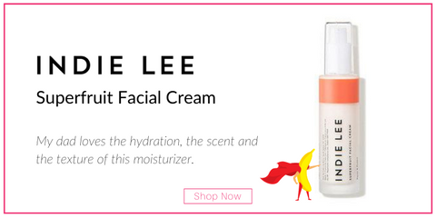 Indie Lee Superfruit Facial Cream My dad loves the hydration, the scent and the texture of this moisturizer.