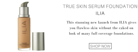 true skin serum foundation from ilia: the stunning new launch from ilia gives you flawless skin without the caked on look of many full coverage foundations.