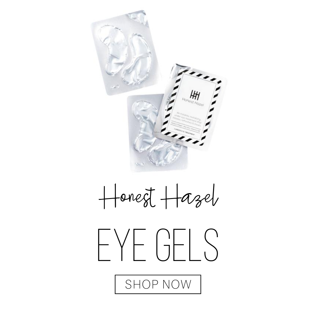 honest hazel eye gels