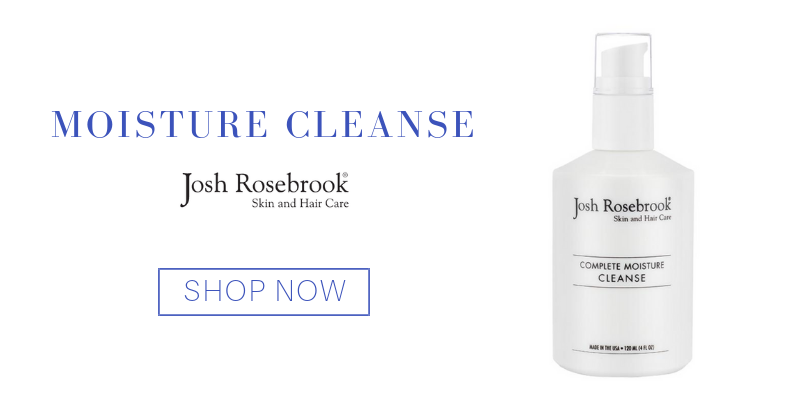 moisture cleanse from josh rosebrook