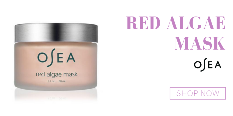 red algae mask from osea