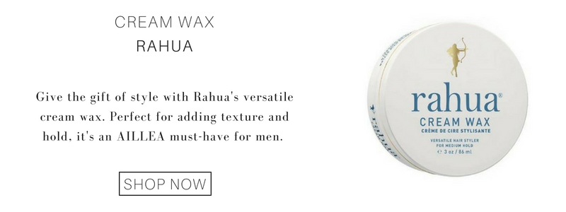 Cream Wax from Rahua. give the gift of style with rahua's versatile cream wax. perfect for adding texture and hold, it's an aillea must have for men.