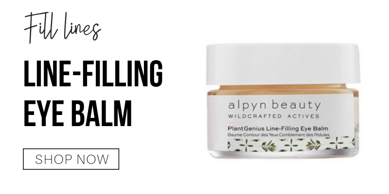 fill lines: line filling eye balm from alpyn beauty