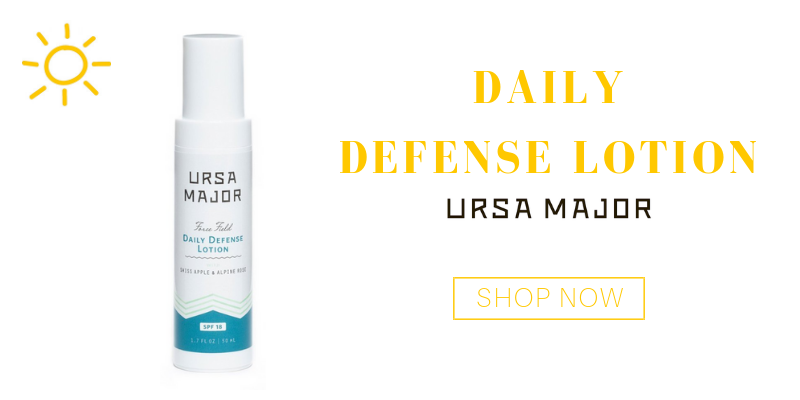 daily defense lotion from ursa major