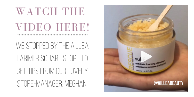 watch the video here! we stopped by the aillea larimer square store to get tips from our lovely store-manager, meghan!