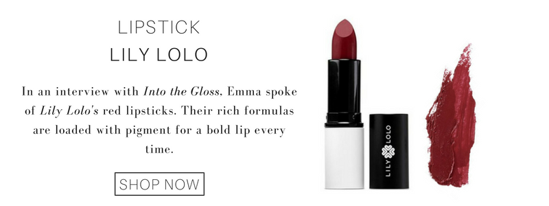 red lipsticks from Lily Lolo: in an interview with into the gloss, emma spoke of lily lolo's red lipsticks. their rich formulas are loaded with pigment for a bold lip every time.