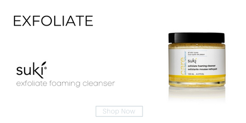 exfoliate: exfoliate foaming cleanser from suki