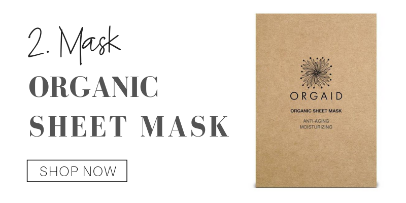 2. mask: organic sheet mask from orgaid