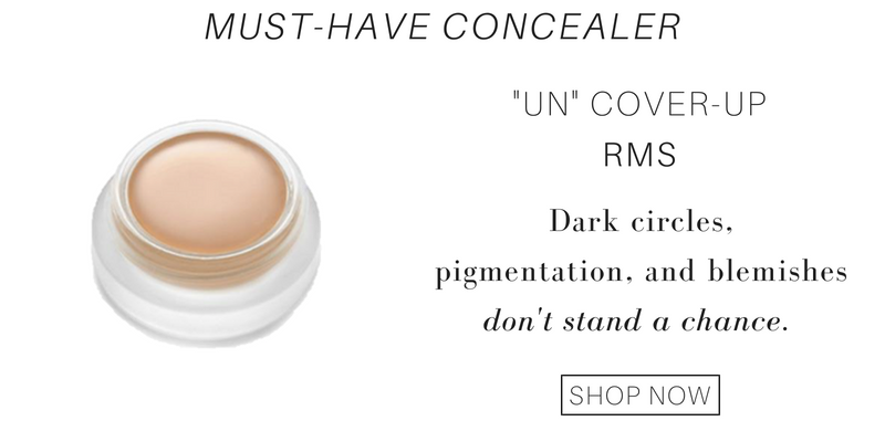 "must-have concealer: ""un""cover-up from RMS. dark circles, pigmentation, and blemishes don't stand a chance"