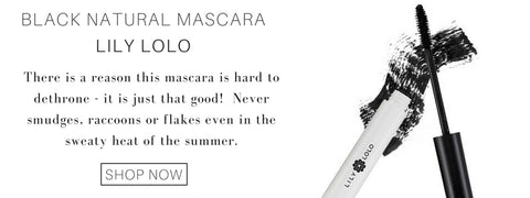 black natural mascara from lily lolo: there is a reason this mascara is hard to dethrone - it is just that good! never smudges, raccoons or flakes even in the sweaty heat of the summer.