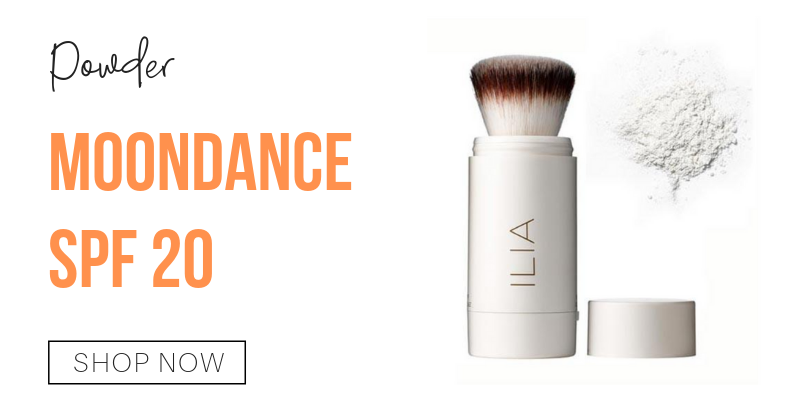 powder: moondance spf 20 from ilia