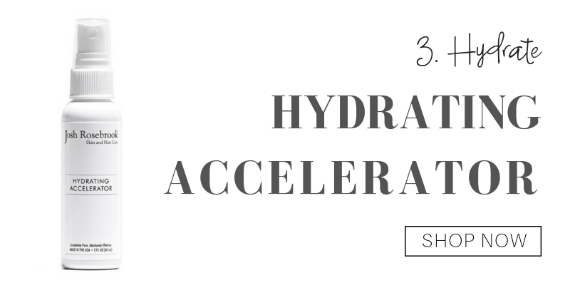 3. hydrate: hydrating accelerator from josh rosebrook
