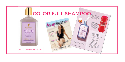 color full shampoo featured in long island magazine
