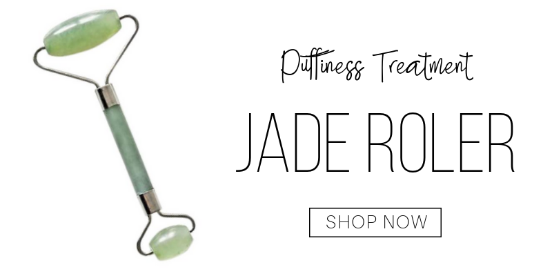 puffiness treatment: jade roller