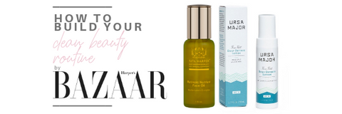 how to build your clean beauty routine by harper's bazaar