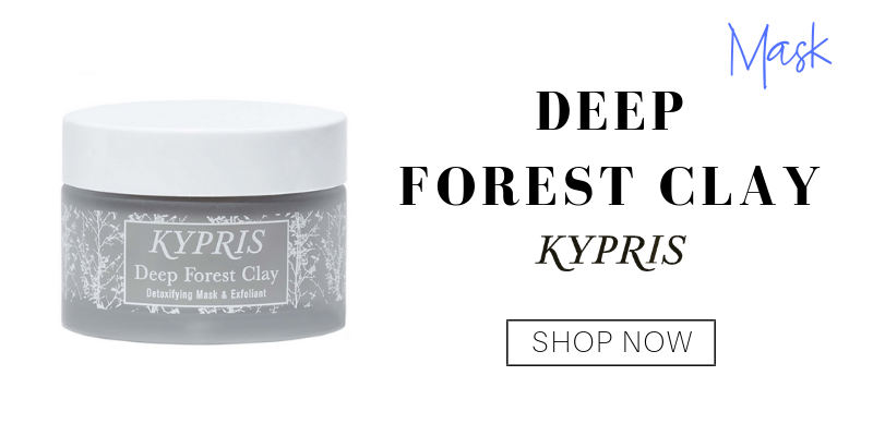 mask: deep forest clay from kypris