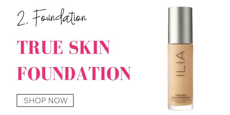 2. foundation: true skin foundation from ilia