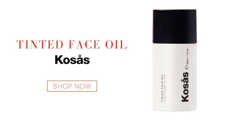 tinted face oil from kosas