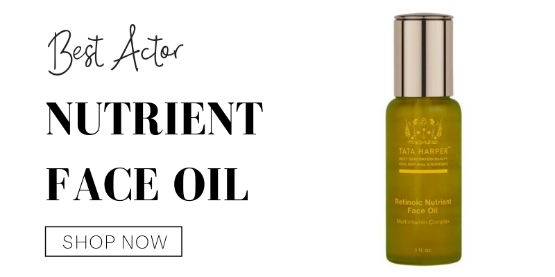 best actor: nutrient face oil from tata harper