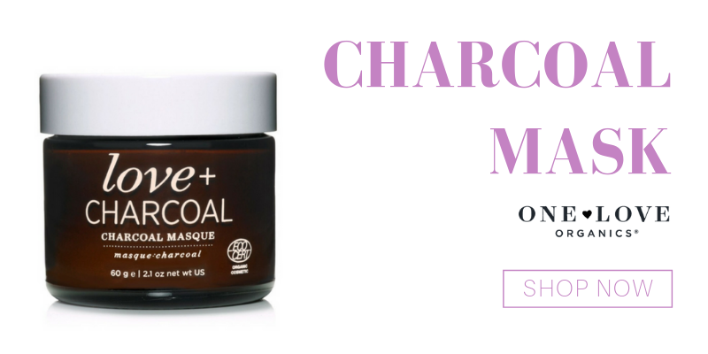 charcoal mask from one love organics