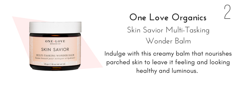 one love organics skin savior multi-tasking wonder balm: indulge with this creamy balm that nourishes parched skin to leave it feeling and looking healthy and luminous.