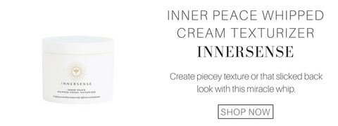 inner peace whipped cream texturizer from innersense: create piecey texture or that slicked back look with this miracle whip.