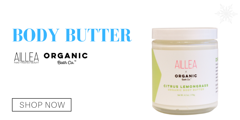 body butter from organic bath co.