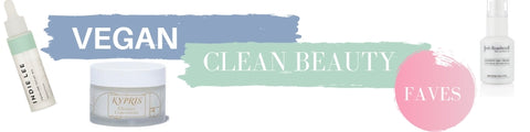 vegan clean beauty faves