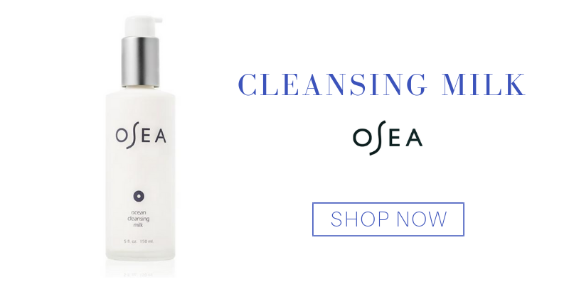 cleansing milk from osea