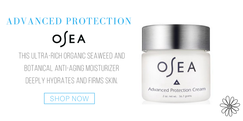 advanced protection from osea. this ultra-rich organic seaweed and botanical anti-aging moisturizer deeply hydrates and firms skin.