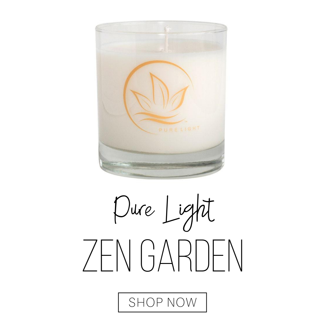 pure light zen garden candle