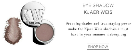 eye shadow from kjaer weis: stunning shades and true staying power make the kjaer weis shadows a must have in your summer makeup bag.