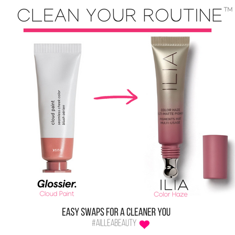 swap your glossier cloud paint for ILIA Color Haze