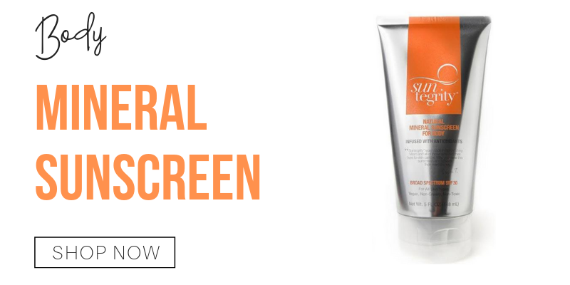 body: mineral sunscreen from suntegrity
