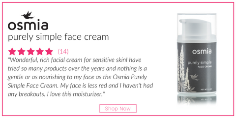 osmia pure and simple face cream